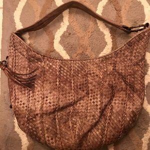 Rare HOBO International Woven Hobo Handbag